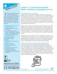 Lead - Michigan Water Stewardship Program