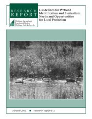 Guidelines for Wetland Identification and Evaluation - Department of ...