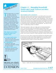 Managing Household Wastewater - Michigan Water Stewardship ...