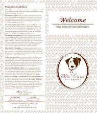 Welcome - Olde Towne Pet Resort