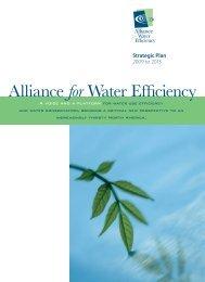 Strategic Plan 2009-2011 - Michigan Water Stewardship Program