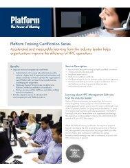 Platform Training Certification Series - Platform Computing