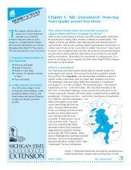 Site Assessment - Michigan Water Stewardship Program