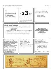 2 Klassenbildung & Histogramme klassierter Daten
