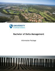 Course Description - HZ University of Applied Sciences