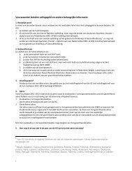 Voorwaarden betalen collegegeld en andere belangrijke informatie