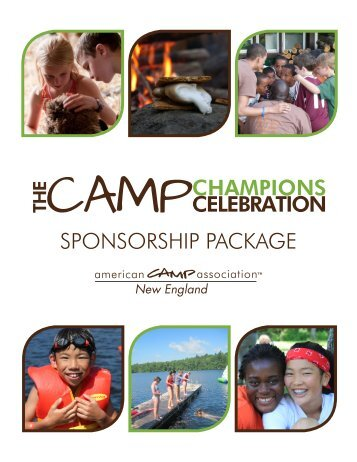 download our sponsorship packet - American Camp Association ...