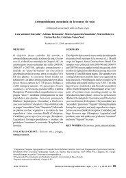 Artropodofauna associada às lavouras de soja Arthropods ...