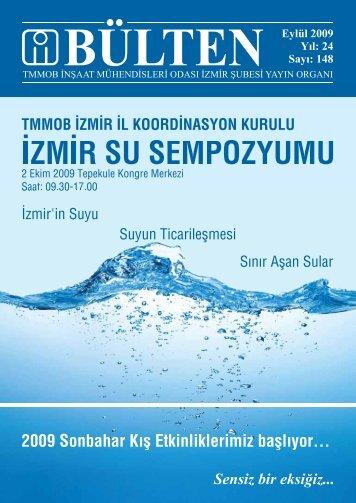 Eylül 2009 - Sayı: 148 (6744 KB) - İzmir - TMMOB İnşaat ...