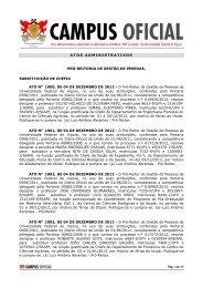 Atos Administrativos PGP 17.01.2013 - DTI- Diretoria de Tecnologia ...