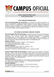 Atos administrativos 24.06.2010 - DTI- Diretoria de Tecnologia da ...