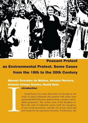 Peasant Protest as Environmental Protest. Some Cases from the ...
