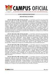 Atos Administrativos 24.10.2011 - DTI- Diretoria de Tecnologia da ...