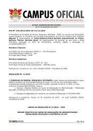 Atos Administrativos 21.12.2010 - DTI- Diretoria de Tecnologia da ...