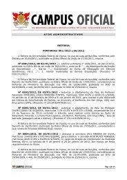 Atos Administrativos - janeiro de 2012 - DTI- Diretoria de Tecnologia ...