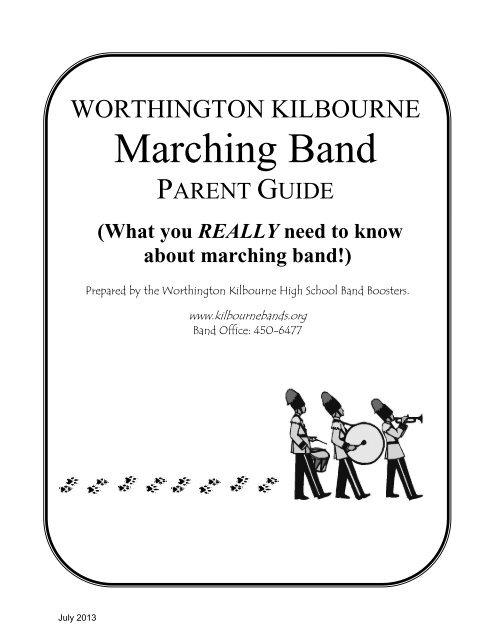 WKMB Parent Guide pdf - Worthington Kilbourne Bands