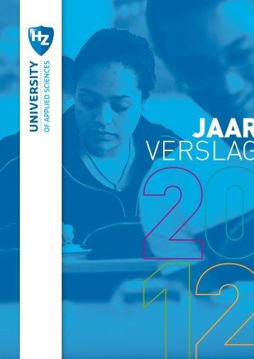 Jaarverslag 2012 - HZ University of Applied Sciences