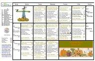 Monthly Fitzgerald Place Calendar - Arbor Acres