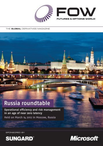 Russia roundtable - Futures & Options World