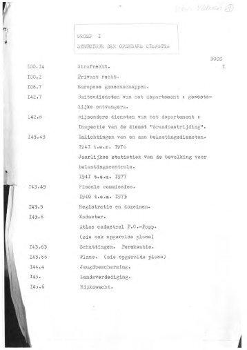 Inventaris Gemeentearchie Westvleteren - Gemeente Vleteren