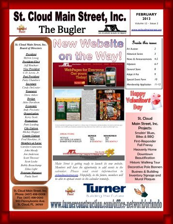 to view our February 2013 Edition of The Bugler! - St. Cloud Main ...