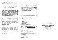 Lernen und ästhetische Bildung 12. - Playing-Arts