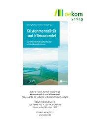 Ludwig Fischer, Karsten Reise (Hrsg.) Küstenmentalität und ...