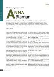 Florette Dijkstra -- Anna Blaman -- essay - Cubra