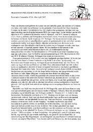 FRANCISCUS WILHELMUS MARIA (FRANS) VAN ... - Cubra