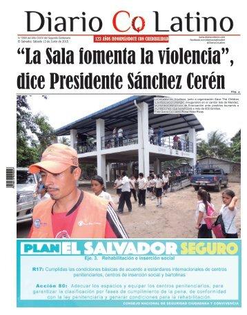 Edición 13 de Junio de 2015