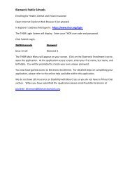 Login Instructions for Blue Cross Online Applications