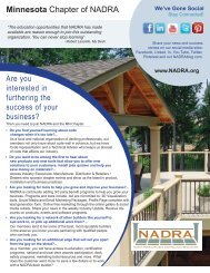 Here's - North American Deck and Railing Association