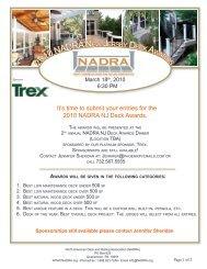 2010 NADRA N - North American Deck and Railing Association