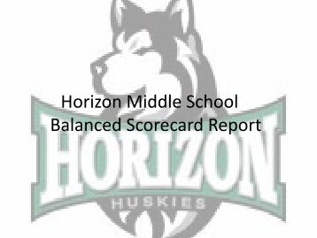 Horizon Middle School Continuous Improvement Plan