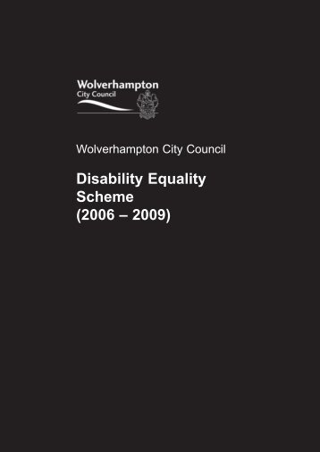 Wolverhampton City Council Disability Equality Scheme