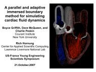 A parallel and adaptive immersed boundary method for simulating ...