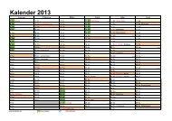 Kalender 2013 - MSC Reinhardswald-Hofgeismar