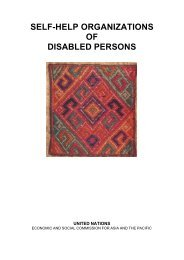 self-help organizations of disabled persons - Birmingham Disability ...