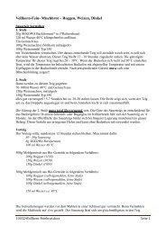 Vollkorn-Fein- Mischbrot – Roggen, Weizen, Dinkel - Stalgies