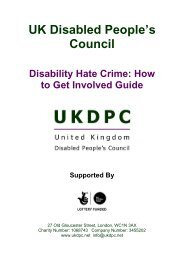 How to Get Involved Guide - Birmingham Disability Resource Centre