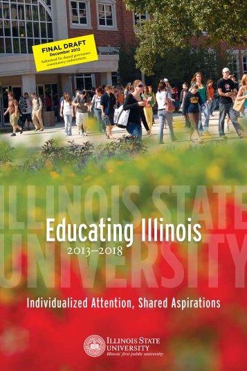 Educating Illinois - Illinois State University