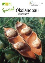 Ökolandbau - Förderpreis Ökologischer Landbau