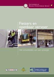 Fietsers en openbaar vervoer : het ontwikkelen ... - Brussel Mobiliteit