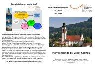 Gemeindeteam - Seelsorgeeinheit Waldkirch