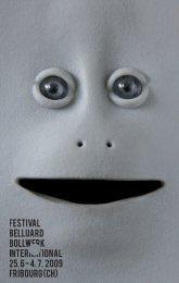 PDF Programm 2009 (5MO) - Accueil - Festival Belluard Bollwerk ...