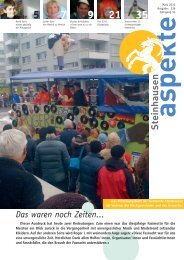 Ausgabe 03/2010 (Grösse 4.4 MB) - Aspekte Steinhausen