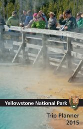 Trip Planner - Yellowstone Up Close and Personal