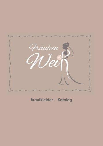 Brautkleider - Katalog