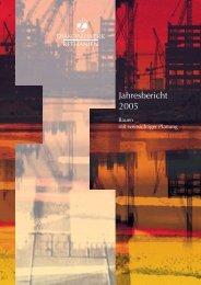 Jahresbericht Diakoniewerk Bethanien 2005 (.pdf)
