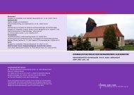 Gemeindebrief Mai/Juni/Juli 2009 - Evangelische Kreuz ...